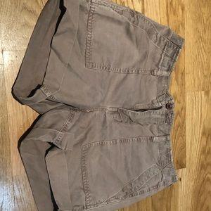 Madewell cargo shorts, khaki / tan size 26